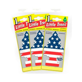 Little Trees Vanilla Pride Bandeira Dos Eua