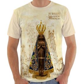 Camiseta Nossa Senhora Aparecida Jubileu 300 Anos De Benção