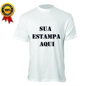 Camiseta Estampada Sua Logo Imagem Empresa Loja Aniversário 6cf7ed1651e