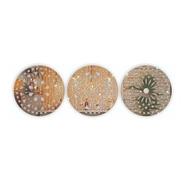 Kit Espelhos Decorativos De Mandalas -perfeito Para Presente
