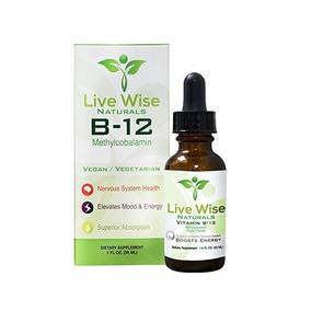 La Vitamina B12 Sublingual Gotas De Líquido, Metilcobalamina