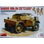 Miniart 1/35 35067 Dingo Mk Ib British Scout Car W/ Crew