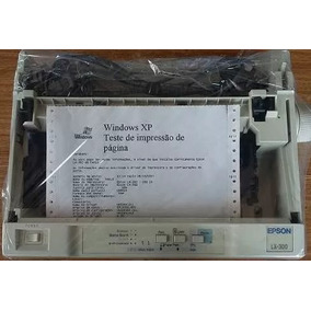 Impressora Epson Matricial Lx 300 Lx-300 - (61 Vendidas)