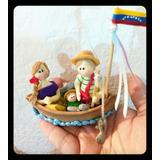 Mini Pesebres Tipicos De Venezuela En Masa Flexible