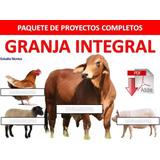 Paquete Integral Aprende Cria Chanchos Vacas Gallinas Pollos