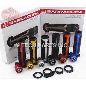 Kit Manopla Barracuda+pesos Original Universal Honda Yamaha