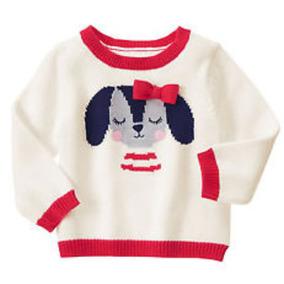 Sweater Pullover Buzo De Hilo Para Nena Gymboree Importado