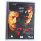 Dvd 7 Seven - Os Sete Crimes Capitais - Original Lacrado!!