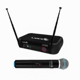 Microfone S/ Fio De Mão Vhf Vh 102 Pro M Lyco Igreja Culto