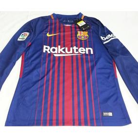 playera Polo Manga Larga Nike Del Barcelona A Solo  700.00 en ... d612a94eca6