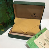 Caixa De Relógio Rolex (estojo) Frete Gratis