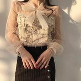 Blusa Mujer Dama Formal Elegante