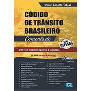 Livro Código De Trânsito Brasileiro Comentado 2021