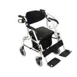 Andador Com 4 Rodas - Vira Cadeira De Rodas - Comfort Sl-808