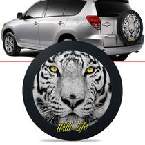 Capa De Estepe Tigre Toyota Rav4 Aro 17 E Cadeado 12 A 06