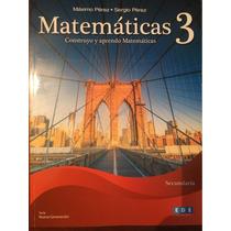 Matemáticas 3 Construyo Y Aprendo Matematicas Secundaria