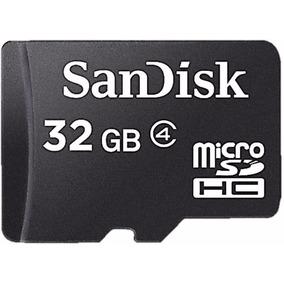 Cartao Mini Card Sd De 32gb + Leitor 100% Original Vedado!