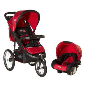 Cochecito Travel System Huevito C40 Run Kiddy Ruedas Infla