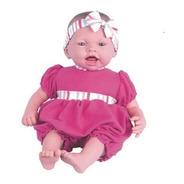 Boneca Dolls Collection Reborn Pink - 457