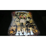 Remera Negra De Muhammad Ali