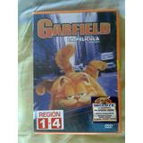 Nuevo Dvd Gato Garfield Español Ingles Infantil No Disney