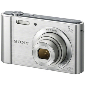 Câmera Sony Cyber Shot Dsc W800 Prata