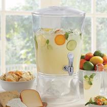 Dispensador De Agua Bebidas Frescas De Acrílico Despachador