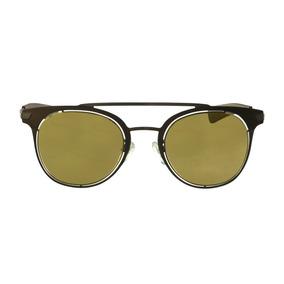 Óculos De Sol Police Retrô Marrom