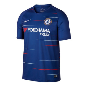 Camisa Blusa Time Futebol Chelsea Home Adulto 2018 Azul b5334ebe4140b
