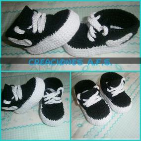 Zapatos Tejidos A Crochet Para Bebes