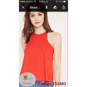 Blusa Roja Forever 21