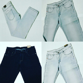 Jeans Strech Caballero Skinny Marcas Fg Y Across
