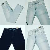 Jeans Strech Caballero Skinny Marcas Fg Y Across