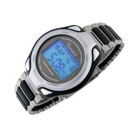 Reloj Montreal Hombre Ml601 Crono Alarma Sumerg Envío Gratis
