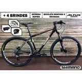 Bicicleta Mosso Aro 29 Shimano Altus 27v Freio Hidraulico
