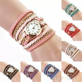 Kit Relógio Vintage Bracelete R$150,00, Dez Unidades
