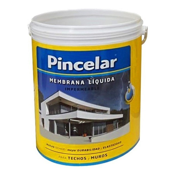 Membrana Liquida Para Techos Y Muros Plavicon Pincelar 5k