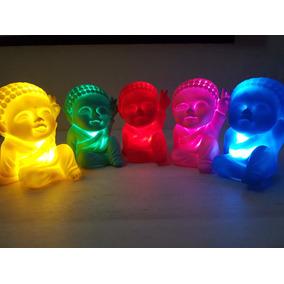 Buda Bebe Luminoso Luz Led Budita De La Paz Decoración Hogar