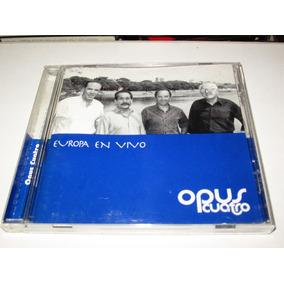 Cd Opus Cuatro Europa En Vivo