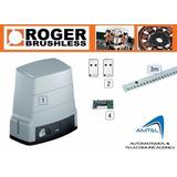 Kit Motor Puerta Corrediza Roger H30-garajes Automáticos