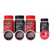 Haircaps Day E Noite Kit 4 Unidades 30 Cápsulas Cada Frasco