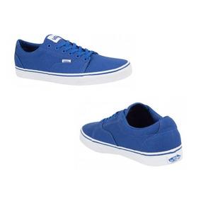 Tenis Vans Hombre - Tenis Casuales Hombres Otras Marcas Azul en ... cc2fc464196