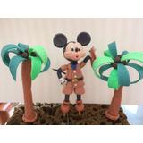 Adorno Mickey Mouse Safari En Masa Flexible