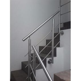 barandal de acero inoxidable para escaleras