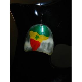 Padrísimos Aretes Grandes De Hueso África Rasta Reggae