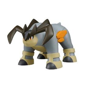 Pokemon Negro Blanco Terrakion Suave Vinilo Juguete Figura