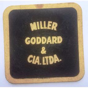 Bolacha Chopp Brahma Bar Miller Goddard - Anos 90