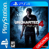 Uncharted 4 A Thiefs End Ps4 Digital Elegi Reputacion (cs)