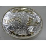 689a942fa8b3b Fivela Montana Silversmiths Laço Bezerro Amador Master