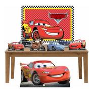 Carros Kit Festa Display Mesa E Chão + Painel - Lt009p1